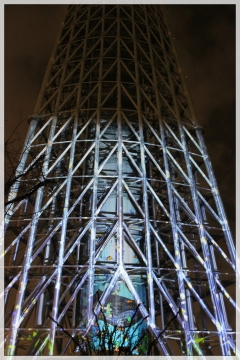 H28122236東京スカイツリープロジェクションマッピング