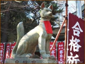 20170103  狐さん  1   水稲荷神社