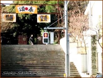 20170103  参道  1   水稲荷神社