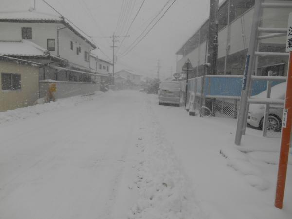 雪の中山道