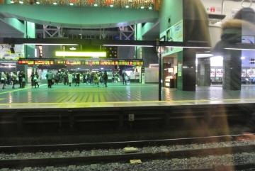 思い出の京都駅夜