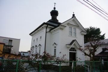 聖ハリストス教会正面側