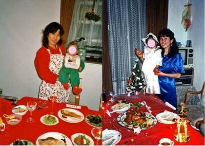 キャプチャ クリスマスディナー 420