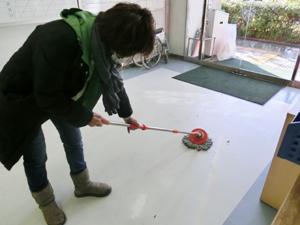 公民館掃除