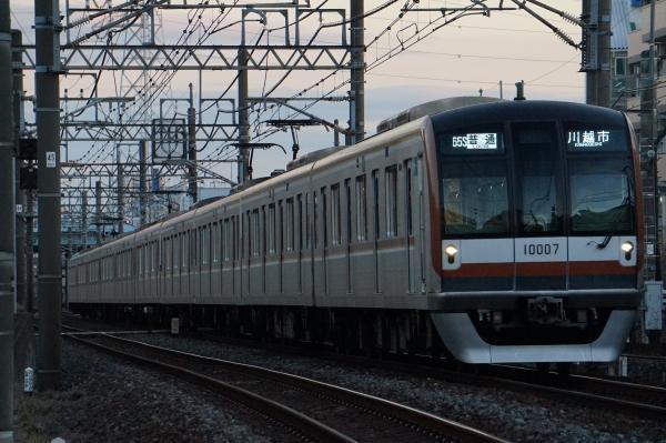 2016-12-10 メトロ10107F 普通川越市行き