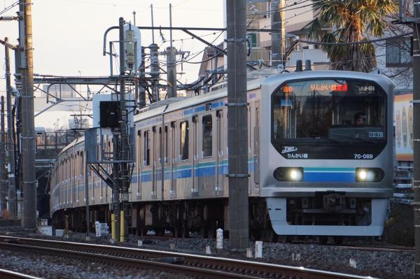 2016-12-10 りんかい線70-000形Z8編成 快速新木場行き1