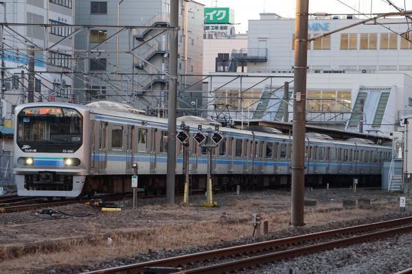 2016-12-10 りんかい線70-000形Z8編成 快速新木場行き2