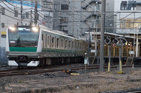 2016-12-10 埼京線E233系ハエ119編成 各駅停車新宿行き