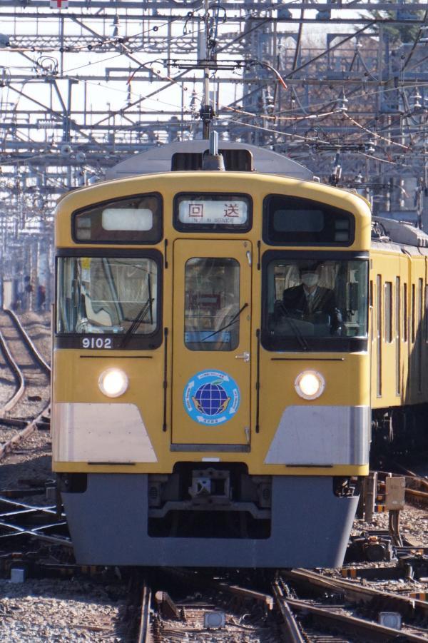 2016-12-10 西武9102F 回送