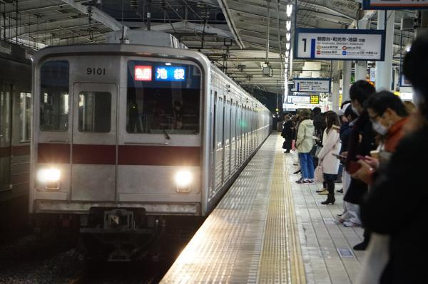 2016-12-10 東武9101F 急行池袋行き