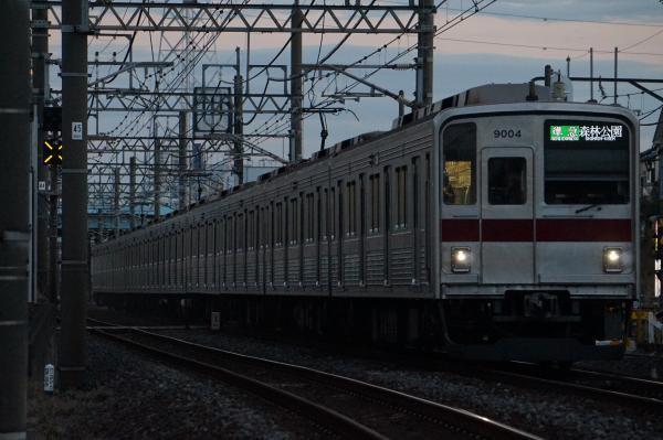 2016-12-10 東武9104F 準急森林公園行き