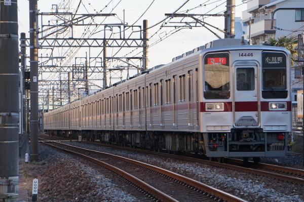 2016-12-10 東武11638F_11446F 急行小川町行き