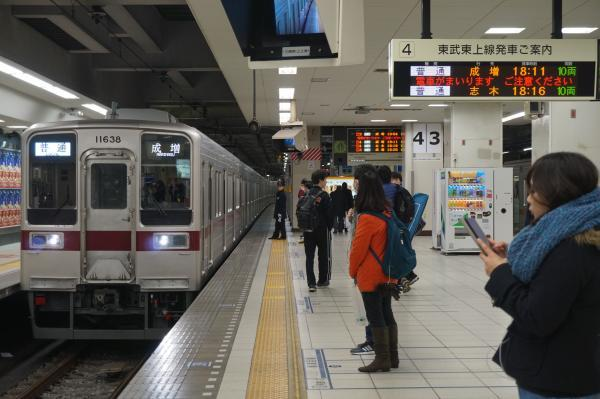 2016-12-10 東武11638F_11446F 普通成増行き