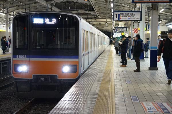 2016-12-10 東武51093F 快速急行池袋行き