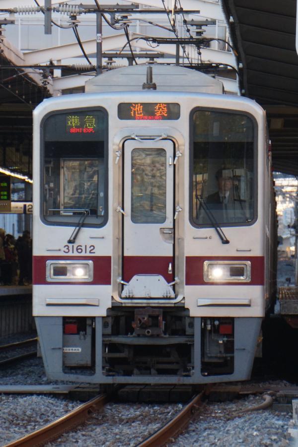 2016-12-10 東武31612F_31412F 準急池袋行き