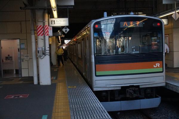 2016-12-10 八高・川越線205系ハエ84編成 八王子行き