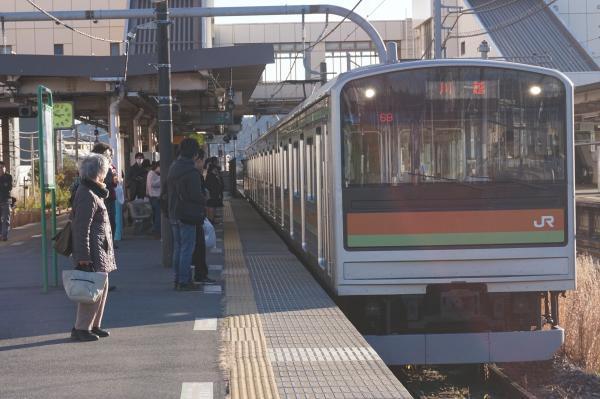 2016-12-10 八高線205系ハエ81編成 川越行き