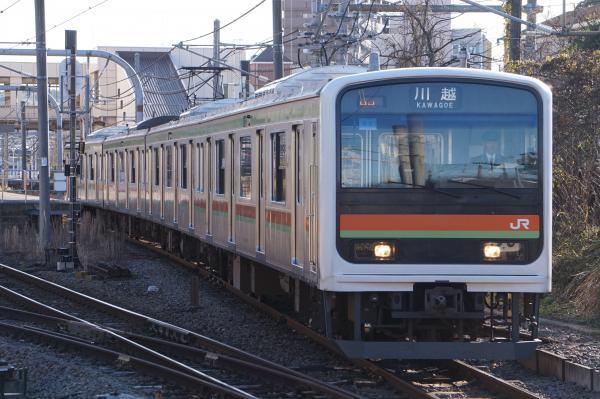 2016-12-10 八高線209系ハエ62編成 川越行き