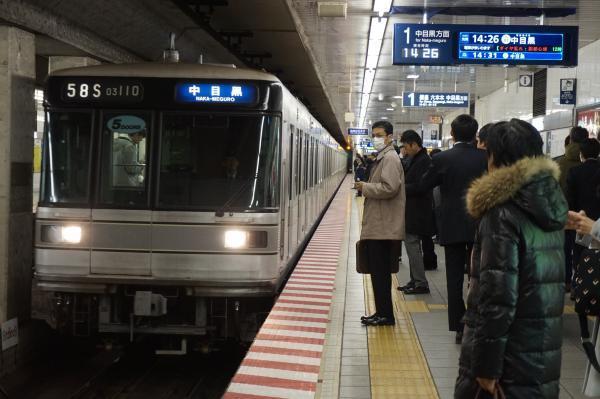 2016-12-15 メトロ03-110F 中目黒行き
