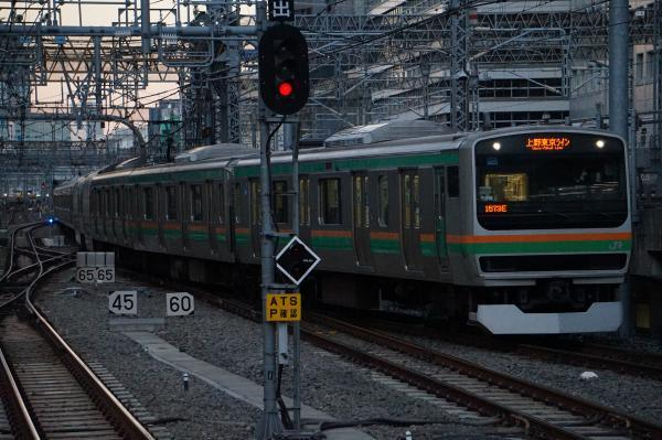 2016-12-15 近郊型E231系ヤマU532編成 上野東京ライン沼津行き
