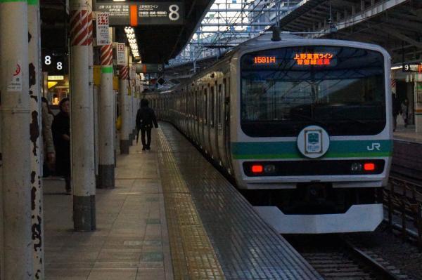 2016-12-15 常磐線E231系マト110編成 取手行き