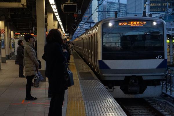 2016-12-15 常磐線E531系カツK467編成 土浦行き