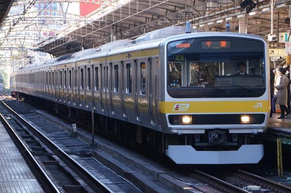 2016-12-15 総武線E231系ミツB9編成 千葉行き
