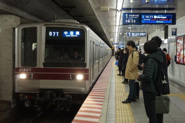 2016-12-15 東武21807F 中目黒行き