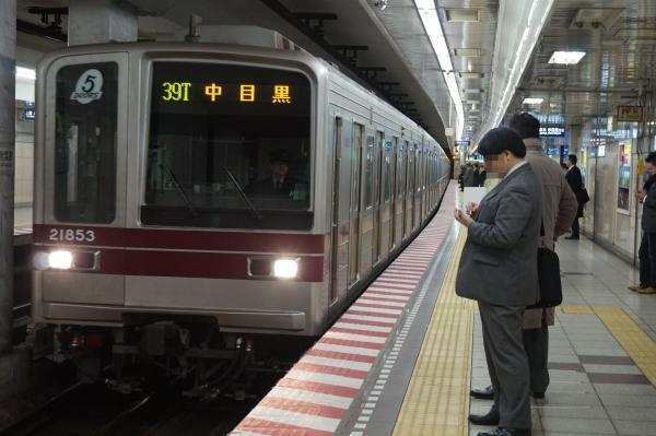 2016-12-15 東武21853F 中目黒行き