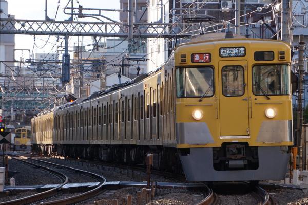 2016-12-16 西武2033F_2509F 急行西武新宿行き 2348レ