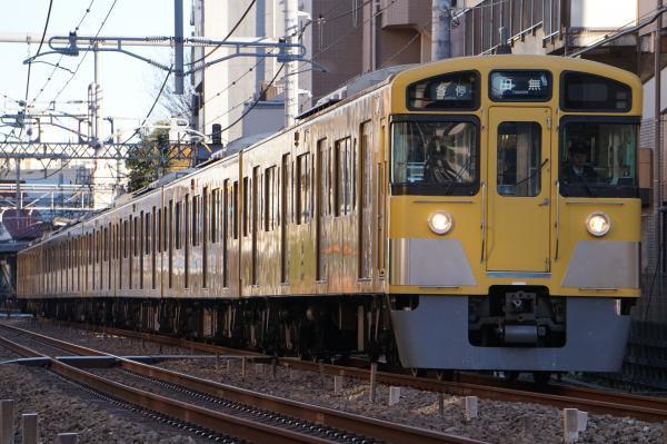 2016-12-16 西武2061F 各停田無行き 5151レ