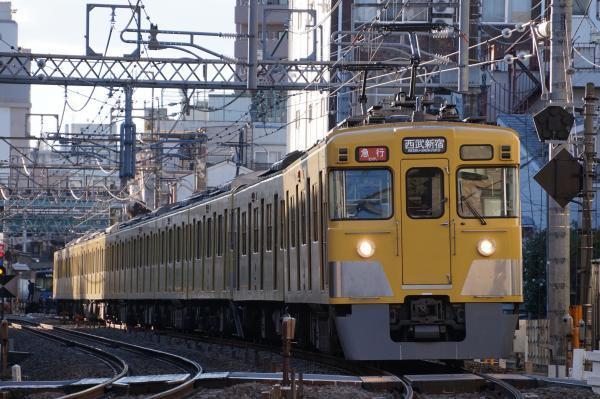 2016-12-16 西武2407F_2065F 急行西武新宿行き 2660レ
