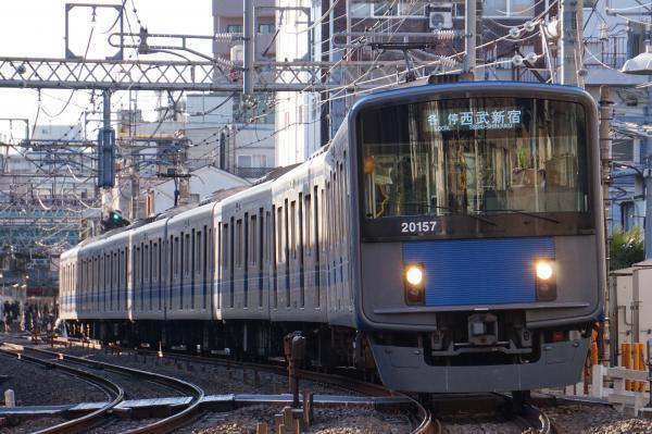 2016-12-16 西武20157F 各停西武新宿行き 5142レ