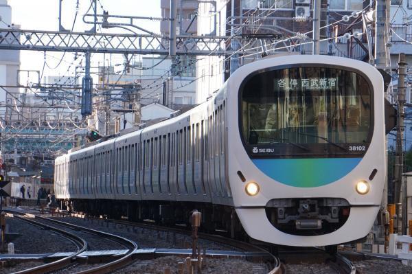 2016-12-16 西武38102F 各停西武新宿行き 5144レ