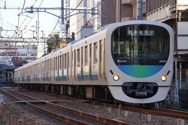 2016-12-16 西武38115F 各停新所沢行き 5823レ