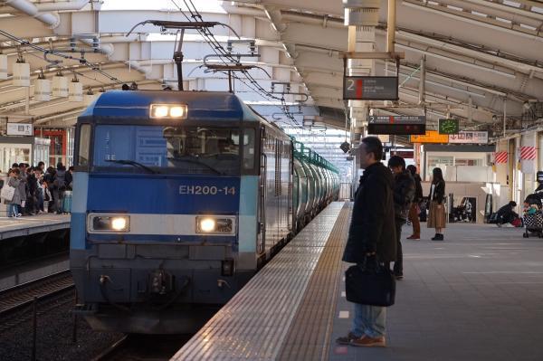 2016-12-17 EH200 14牽引 貨物列車
