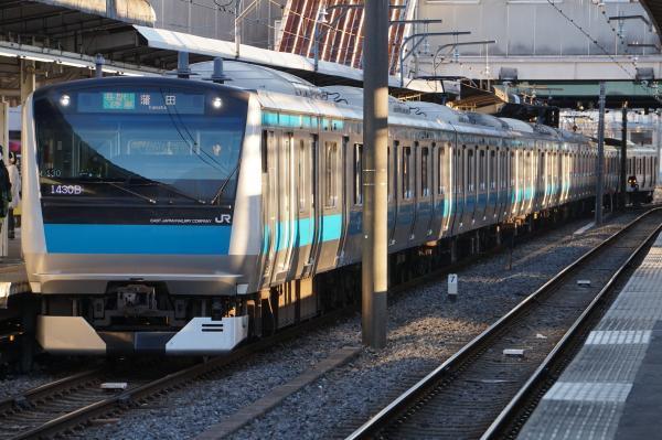 2016-12-17 京浜東北線E233系サイ130編成 各駅停車蒲田行き