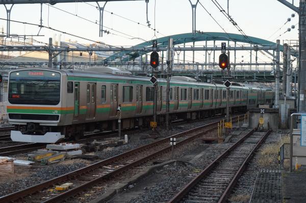 2016-12-17 近郊型E231系ヤマU511編成 上野東京ライン沼津行き