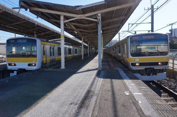 2016-12-17 総武線E231系ミツA520編成 B36編成
