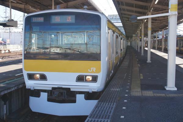 2016-12-17 総武線E231系ミツA520編成 回送