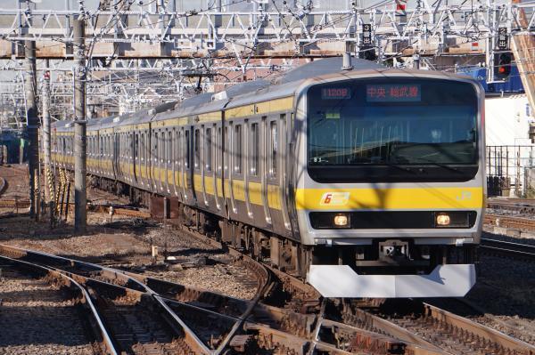 2016-12-17 総武線E231系ミツB1編成 千葉行き