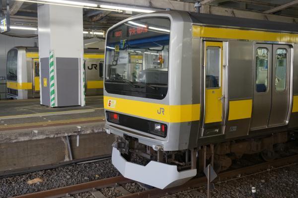 2016-12-17 総武線E231系ミツB6編成 B901編成