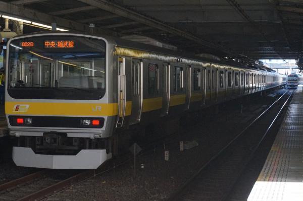 2016-12-17 総武線E231系ミツB6編成 三鷹行き