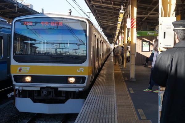 2016-12-17 総武線E231系ミツB6編成 千葉行き
