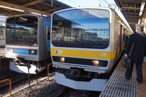 2016-12-17 総武線E231系ミツB6編成 東西線ミツK7編成