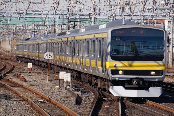 2016-12-17 総武線E231系ミツB12編成 千葉行き