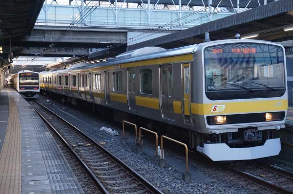 2016-12-17 総武線E231系ミツB36編成 三鷹行き