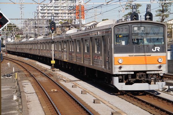 2016-12-17 武蔵野線205系ケヨM1編成 東京行き