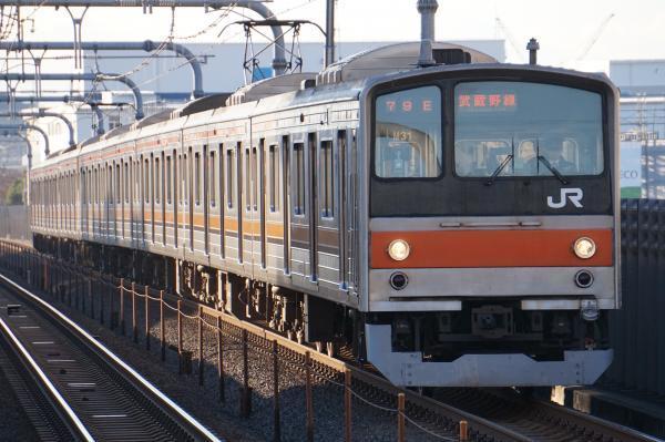 2016-12-17 武蔵野線205系ケヨM31編成 東京行き