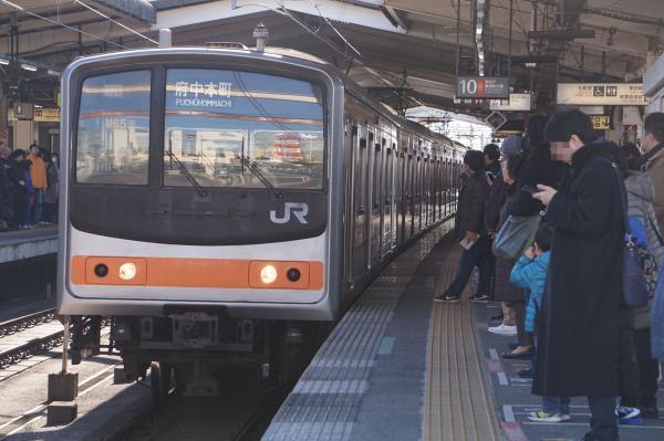 2016-12-17 武蔵野線205系ケヨM65編成 府中本町行き